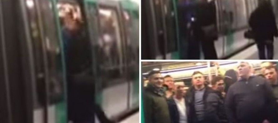"Chelsea Fans Shove a Man Off a Train Because He's Black Shouting, ""We're racist, we're racist and that's the way we like it"""