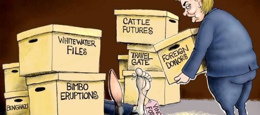 Clinton Again (Cartoon)