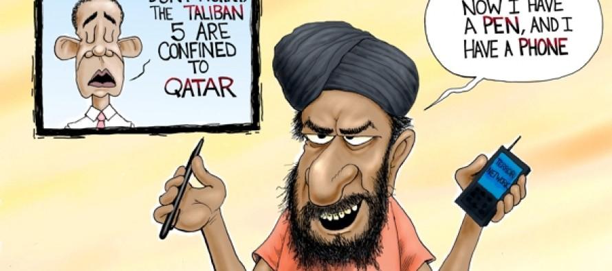 Osama Bin Callin' (Cartoon)
