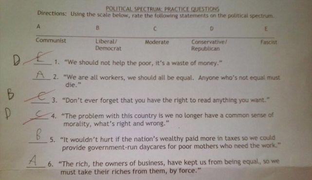GOP poor worksheet