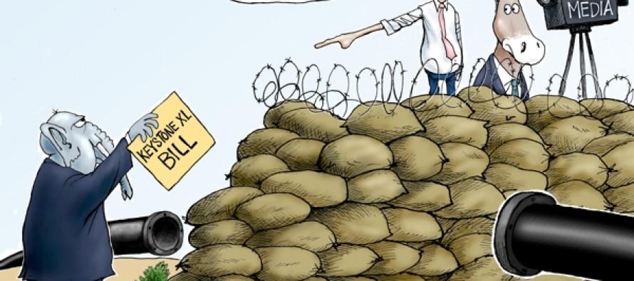 Key Obstruction (Cartoon)
