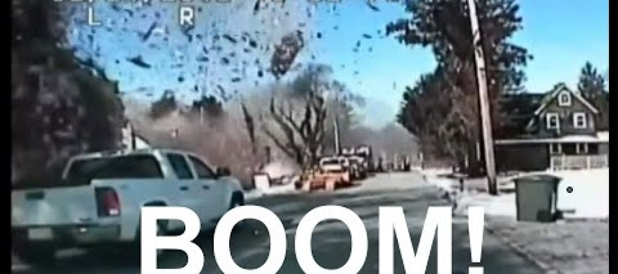 VIDEO BOOM! Massive Explosion of Home in NJ Caught on Police Dashcam– Blown to Bits