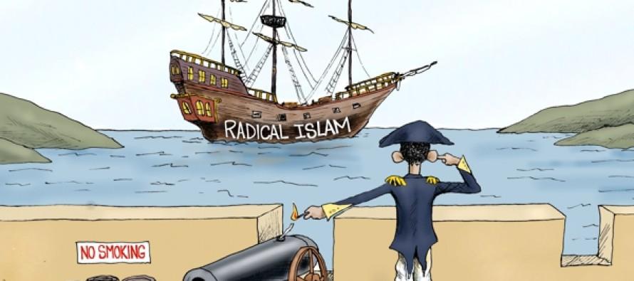 Terrorist Ahoy (Cartoon)