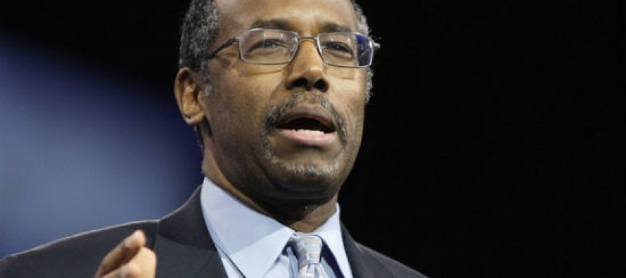 Ben Carson Placed on 'Extremist Watch List' By The Southern Poverty Law Center