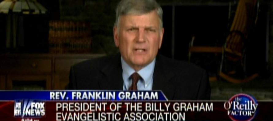 Franklin Graham Sounds Alarm Over Obama's Secret Plan For America's Downfall