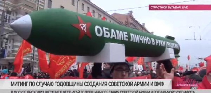 Russia Pushes Reset Button on U.S. Relations: Parades Missile Threatening to BLOW UP Obama