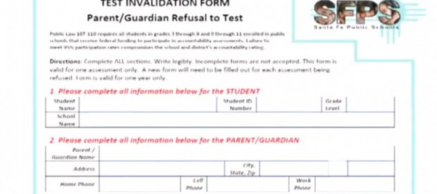 Eighth-Grader Informs Classmates of State's Standardize Test 'Opt-Out' and Her Mom is 'Very Upset' by School's Reaction