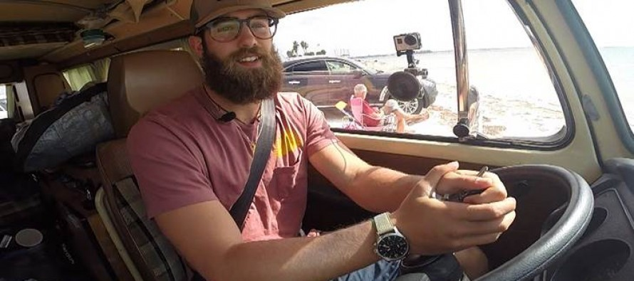 Major League Baseball Player Perfectly Content to Live in his Van