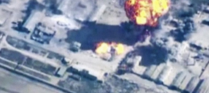 ISIS suffers heavy casualties in air strikes NOW stealing 'blood of captured women and children for wounded fighters'.