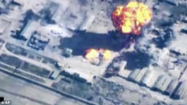 coalition air strikes
