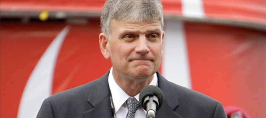 "Rev. Franklin Graham: ""Who Says We Can't Be in Politics? The Anti-God People Are"""