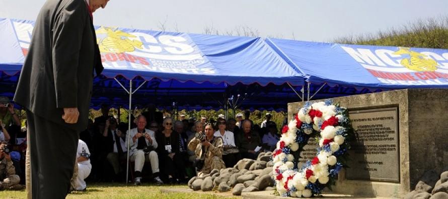 VIDEO: Senior Surviving Officer of Iwo Jima Remembers