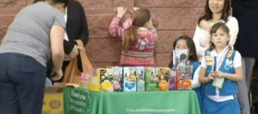 10-yr-old Girl Scout fights a 23-yr-old heroin junkie who tried to STEAL $300 troop made from selling cookies