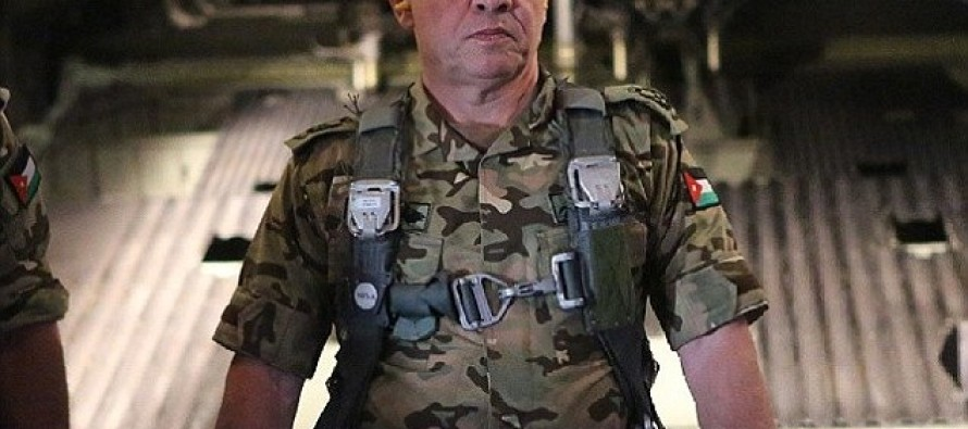 Hard Core: Jordan's King Abdullah is in Combat Gear and Ready to Fight ISIS (PHOTOS)