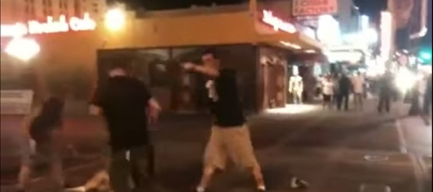 VIDEO: 5-on-1 Fight Has a Surprising Ending