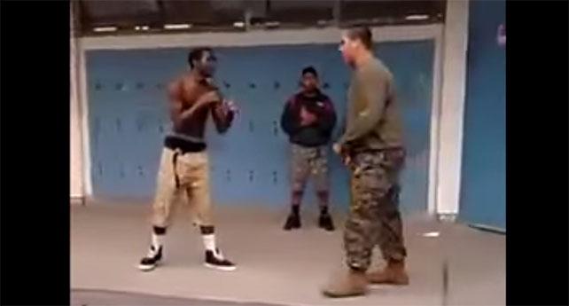 marine vs thug