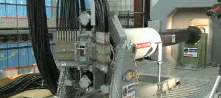 VIDEO: No Longer Just a Work of Science-Fiction, the U.S. Navy Rail Gun Makes Its Debut