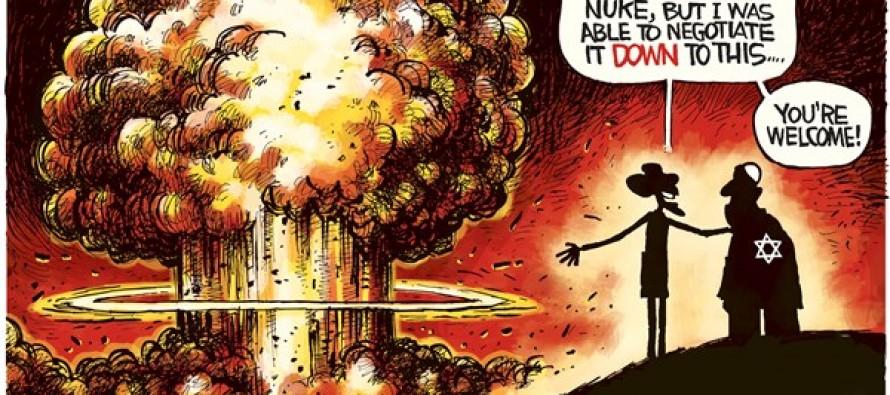 Iran Nuke (Cartoon)