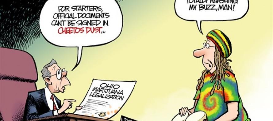 LOCAL OH – Pot Problems (Cartoon)