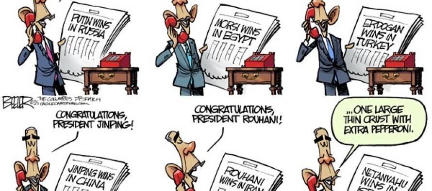 Obama Sunshine Week (Cartoon)