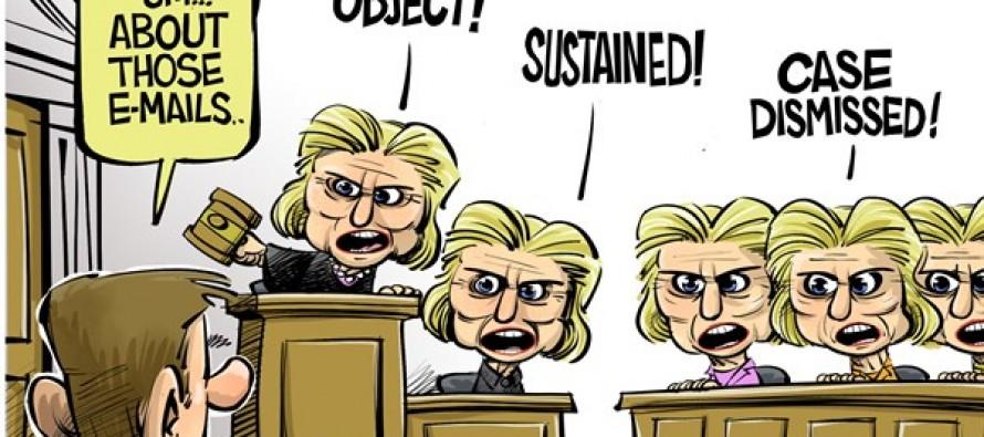 Judge and jury (Cartoon)