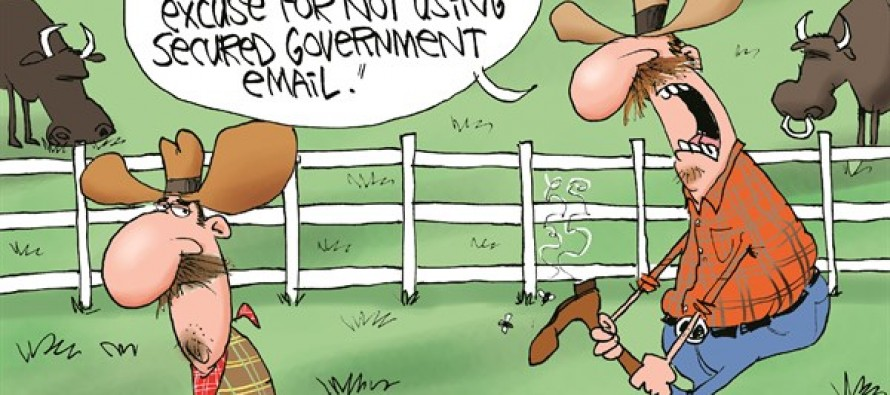 Hillary's BS Excuse (Cartoon)