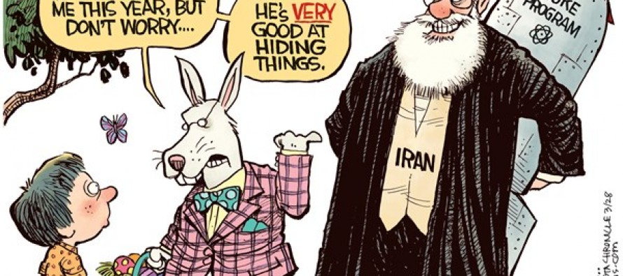 Iran Easter Bunny (Cartoon)