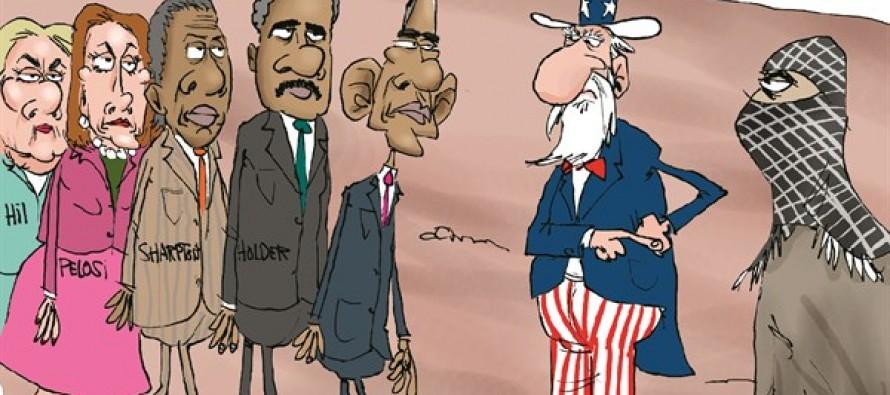 Bergdahl Swap Fix (Cartoon)