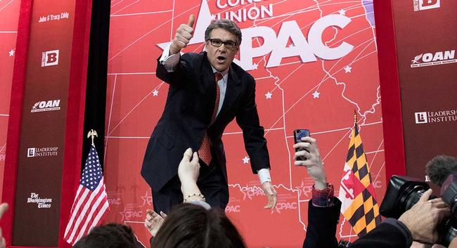 Rick Perry at CPAC 2015
