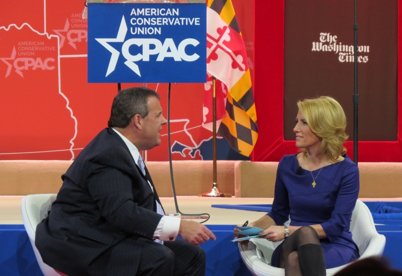 Laura Ingraham grills Chris Christie on the main stage