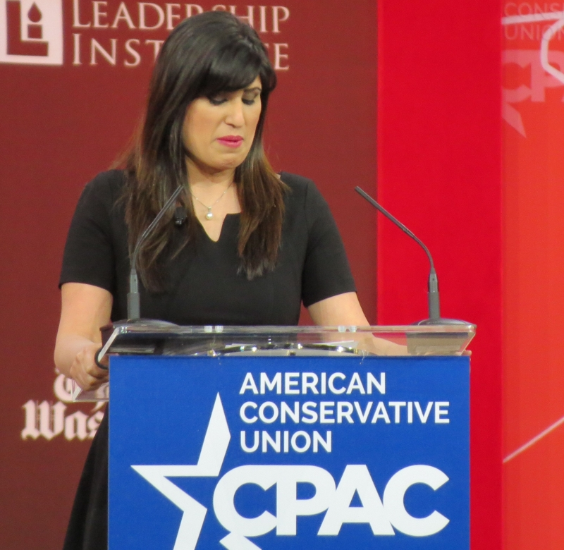 Naghmeh Abedini, whose American citizen husband is being tortured in Iran for being a Christian.