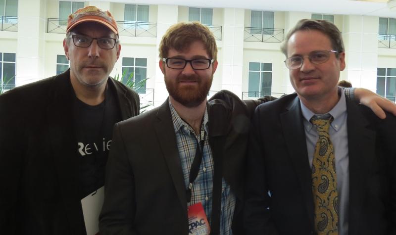 Larry O'Connor, Charles Johnson & Neil Munro