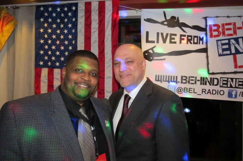 "CPAC Blogger of the Year Wayne Dupree & John LaRosa at the #unsustainablebartab party -- PS: Technically, that event was ""no press,"" but they told pictures were fine, just no video."