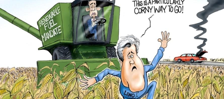 Corny Mandates (Cartoon)