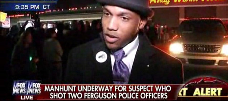 VIDEO: City Manager Claims That Ferguson Cop Shooting Was a Police Setup