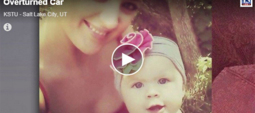 Video: Unknown voice leads to rescue of baby trapped for 14 hours
