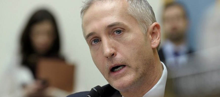 Trey Gowdy Reveals the Big News He Learned About Hillary Clinton Emails