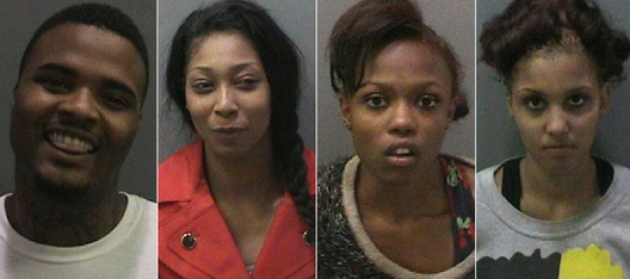 4 Thugs Charged After Running Over Waitress Who Chased Them Over Unpaid Bill