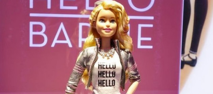 Critics: High-Tech 'Talking' Barbie Could Eavesdrop On Kids