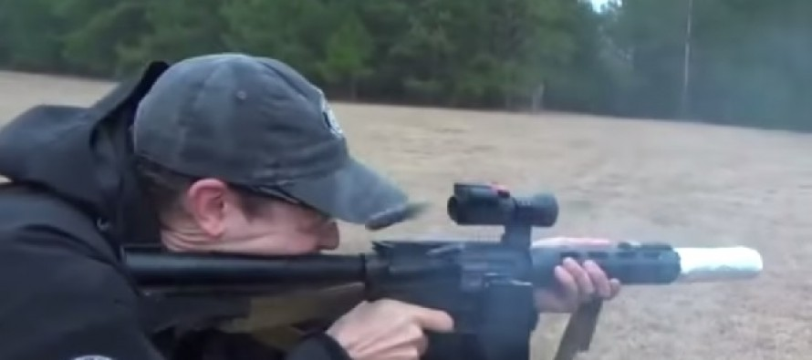 VIDEO: Cooking Bacon on an M16? Believe it…