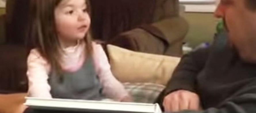 WATCH: The Hilarious Moment a Father Sits His Daughter Down to Tell Her She's Going to Be a Big Sister – And She Just Can't Keep Her 'Excitement' In