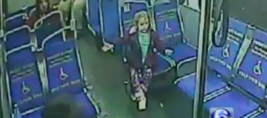 4-Year-Old Girl Boards A Bus at 3AM With One Thought In Mind – And It Wasn't Running Away