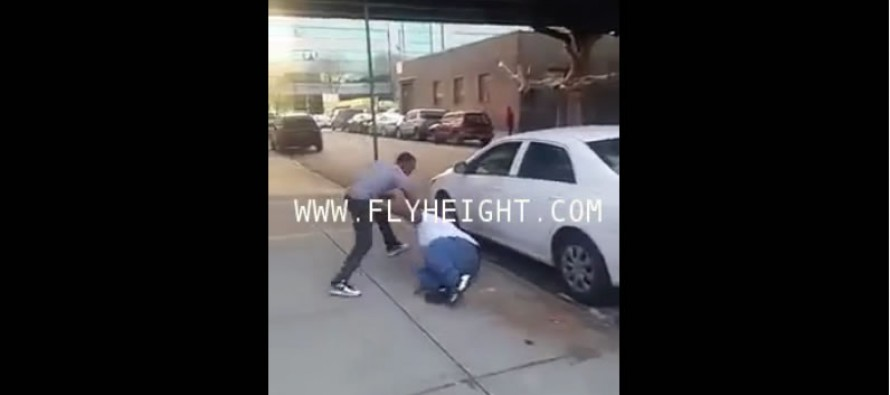 VIDEO: Guy Takes Down Dude Twice His Size for Talking Smack on Facebook
