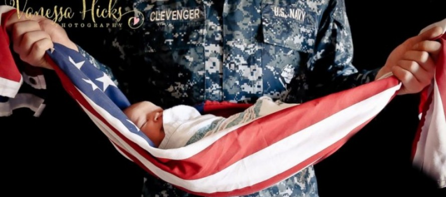 [VIDEO] Veteran and Photographer Fights Back on Family Photo Featuring American Flag