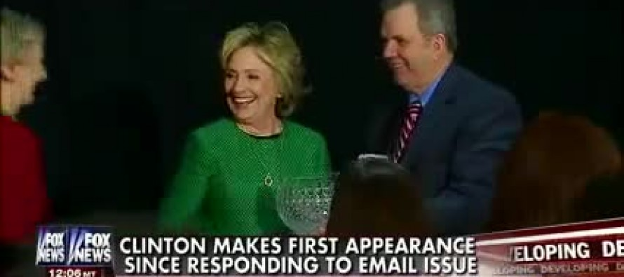 VIDEO: Hillary Clinton Dodges a Question from Fox's Ed Henry on Her Potential Perjury