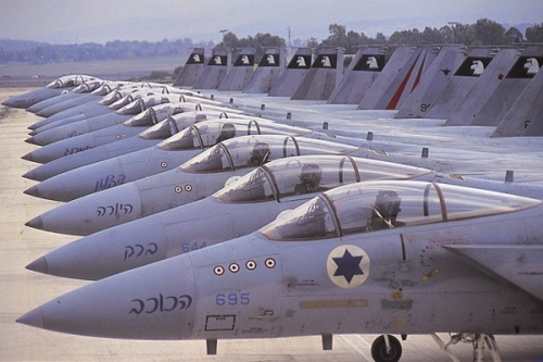 israel fighter jets