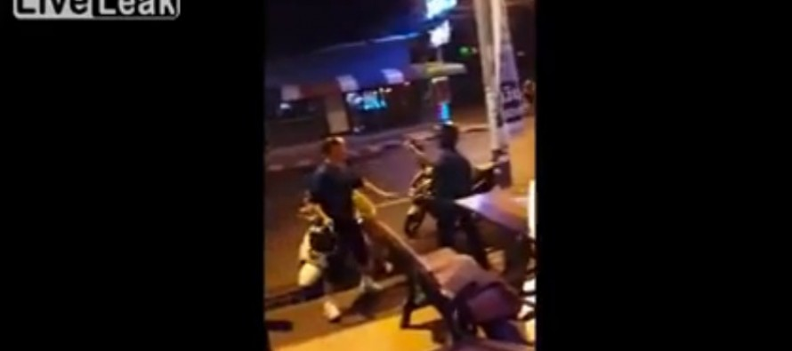 VIDEO: Korean Man Finds Out How to Get Knocked Out in Thailand