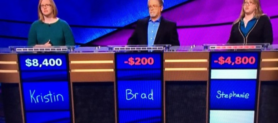 [VIDEO] Only One Jeopardy! Contestant Left to Finish Final Round