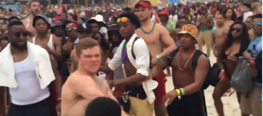 Knockout Punch Over Spring Break at Panama City Beach … With a Twist! [VIDEO]