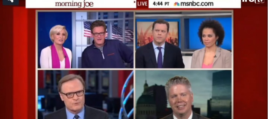 VIDEO: Scarborough Trounces Other MSNBC Host Over Discredited 'Hands up, Don't Shoot' Claim